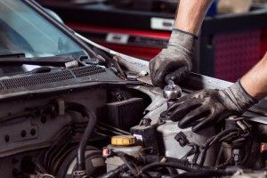 Fixing automotive engine